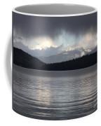 Blue Sky Through Dark Clouds Coffee Mug