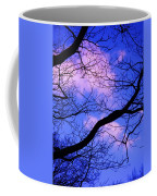 Blue Sky Through The Trees Coffee Mug