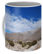 Blue Skys Over The Sandias Coffee Mug