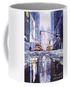 Blue Skyscrapers Coffee Mug