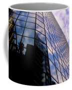 Blue Skyscrapper With A Blue Sky In New Orleans Louisiana Coffee Mug