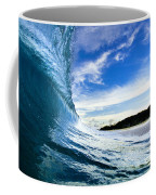 Blue Sleeve  - Triptych   Part 1of 3 Coffee Mug