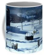 Blue Snow. The Battery Coffee Mug