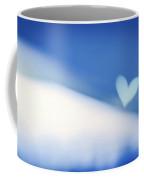 Blue Soft Focus Background Coffee Mug