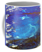 Blue Space Water Coffee Mug