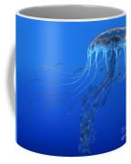 Blue Spotted Jellyfish Coffee Mug