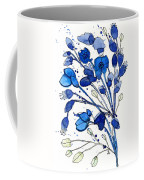 Blue Spray Coffee Mug