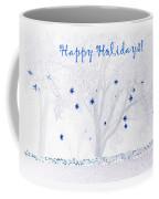 Blue Star Tree Coffee Mug