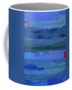 Blue Stripes 1 Coffee Mug