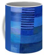 Blue Stripes 7 Coffee Mug
