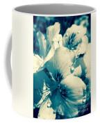 Blue Summer Flower Coffee Mug