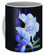 Blue Summer Iris Coffee Mug