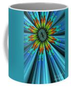 Blue Sun Coffee Mug