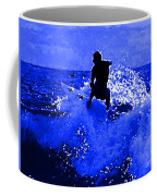 Blue Surf Coffee Mug