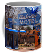 Blue Swallow Motel On Route 66 Coffee Mug