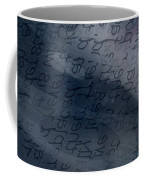 Blue Talk Coffee Mug