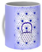 Blue Teapot - Kitchen Coffee Mug