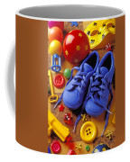 Blue Tennis Shoes Coffee Mug by Garry Gay