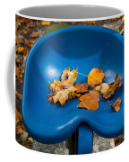 Blue Tractor Seat Coffee Mug