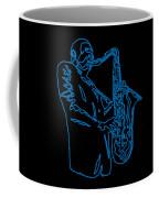 Blue Trane Coffee Mug