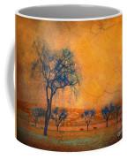 Blue Trees And Dreams Coffee Mug