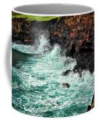 Blue Turmoil Coffee Mug