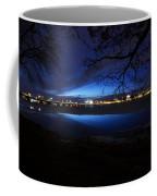 Blue Twilight Over The Charles River Coffee Mug