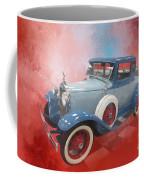 Blue Vintage Car Coffee Mug