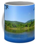Blue Wall Lake Coffee Mug