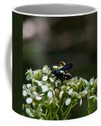 Blue Wasp 1 Coffee Mug