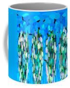 Blue Waterfalls And Teardrops Coffee Mug