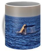 Blue Whales Tail Coffee Mug