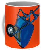 Blue Wheelbarrow Coffee Mug