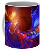 Blue Whirlpool Coffee Mug
