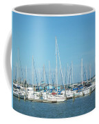 Blue White And Blue Coffee Mug
