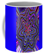 Blue White And Red Abstract #2944e2c Coffee Mug