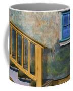 Blue Window Sill Coffee Mug