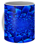 Blue Windows Abstract Coffee Mug
