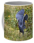 Blue Wings And Green Pond Coffee Mug