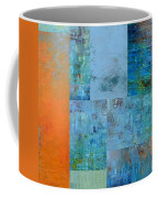 Blue With Orange 2.0 Coffee Mug