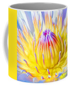 Blue Yellow Lily  Coffee Mug