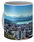 Blue Zurich Coffee Mug