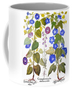 Bluebell And Morning Glory Coffee Mug