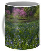 Bluebells And Redbuds Coffee Mug