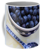 Blueberries With Spoon Coffee Mug