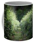 Blueberry Bushes Coffee Mug