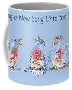 Bluebirds Singing A New Song Bd002 Coffee Mug