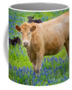 Bluebonnet Cow Coffee Mug