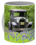 Bluebonnets And Fords Coffee Mug