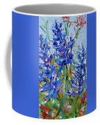 Bluebonnets Of Texas Coffee Mug